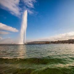 Celebra fantana din Geneva ramane oprita pentru a marca al doilea val al pandemiei de COVID-19