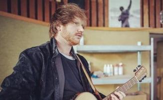 Celebrul cantaret Ed Sheeran, sponsor al unei echipe de fotbal care a castigat in trecut Cupa UEFA