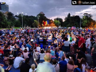 Celebrul pianist Davide Martello vine la protestul din Piata Victoriei
