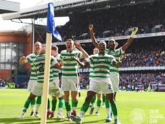 "Celtic Glasgow, in forma inainte de reintalnirea cu CFR Cluj. Si-a invins marea rivala Rangers in derbiul ""Old Firm"""