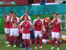 Celula de urgenta la UEFA dupa criza cardiaca suferita de danezul Eriksen. Cand se va relua meciul Danemarca - Finlanda UPDATE