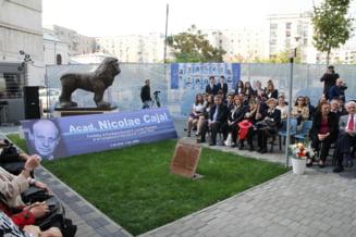 Centenarul nasterii academicianului Nicolae Cajal in a sa casa - Complexul Educational Laude-Reut