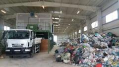 Centrul de management integrat al deseurilor, realizat cu fonduri europene, a fost pus in functiune