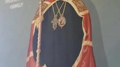Cercetat pentru viol si agresiune sexuala, fostul episcop al Husilor a ramas pictat printre sfinti pe peretii unor biserici din Vaslui