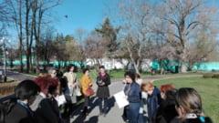 Cercul profesorilor de biologie din judet, in Parcul Chindia