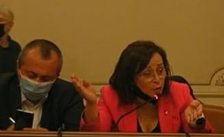 Certuri si urlete la dezbaterea privind demiterea Avocatului Poporului. Cum se apara Renate Weber in fata parlamentarilor VIDEO