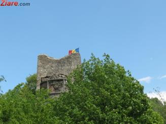 Cetatea Poenari va fi redeschisa publicului, acum si cu fortificatii impotriva ursilor