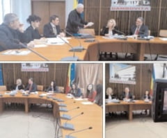 Cetatenii in dialog cu prefectul loan Marinescu