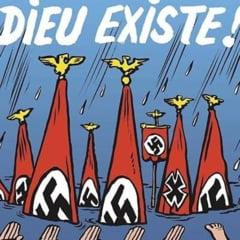 Charlie Hebdo ironizeaza pe prima pagina victimele uraganului Harvey (Foto)