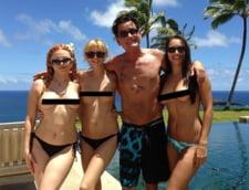 Charlie Sheen si actritele porno cu care si-a petrecut vacanta
