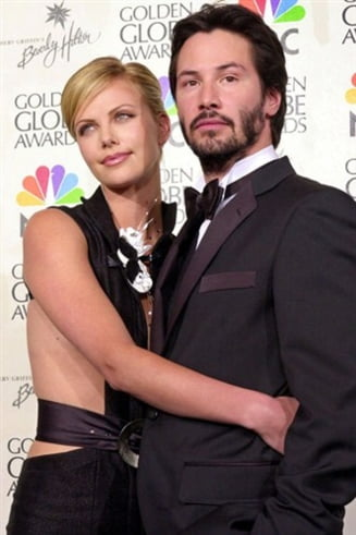 Charlize Theron si Keanu Reeves: dragostea pluteste in aer?