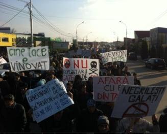Chevron incepe explorarea gazelor de sist la Barlad. Mii de oameni in strada
