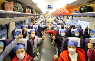 China a dezvoltat o tehnologie prin care identifica o persoana si ii verifica temperatura de la distanta