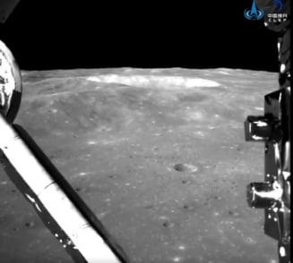 China a facut publice primele imagini panoramice de pe partea nevazuta a Lunii (Foto&Video)