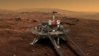 China a pus un robot teleghidat pe Marte. Numele lui a fost ales dupa un sondaj online