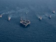 China intervine dupa ce Trump a trimis o armada navala in Peninsula Coreeana