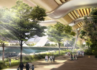 China pregateste orasul viitorului, perfect ecologic: Eco Atlantis (Galerie foto)
