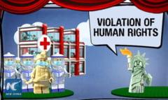 China ridiculizeaza raspunsul SUA la pandemia de COVID-19 intr-un pamflet cu figurine LEGO (Video)