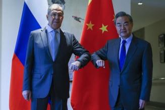 """China si Rusia cauta o strategie comuna la sanctiunile impuse de tarile occidentale: """"Moscova nu mai are la ora actuala niciun fel de relatie cu UE"""""""