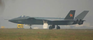 China tine secret un super avion militar