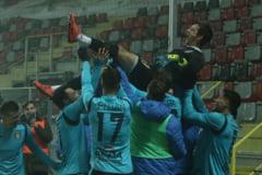 Chindia Targoviste s-a calificat in optimile Cupei Romaniei invingand la loviturile de departajare FC Hermannstad