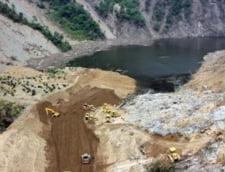 Chinezii au drenat un lac artificial