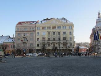 Chiria lunara a unui chiosc de presa din centrul Clujului, cat a unui apartament cu trei camere