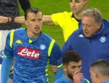 Chiriches, criticat de italieni dupa meciul cu Arsenal din Europa League