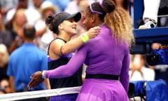 Chris Evert, mesaj superb pentru parintii Biancai Andreescu, dupa finala de la US Open castigata cu Serena Williams
