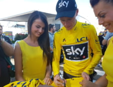 Chris Froome si-a recapatat tricoul galben in Turul Frantei