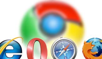 Chrome este cel mai folosit browser din lume