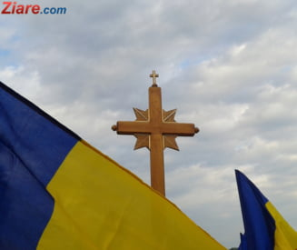 Cimitir medieval descoperit in curtea unei biserici din Romania