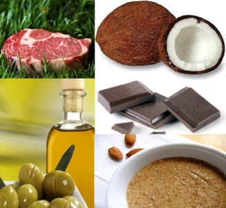 Cinci alimente grase, bune in cura de slabire