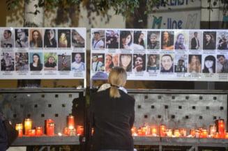 """Cinci ani de la tragedia din clubul Colectiv: """"Nu avem justitie, nu avem schimbari"""""""