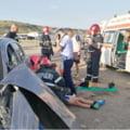 Cinci copii au fost transportati la spital in urma unui accident rutier la Oituz