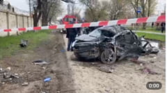 Cinci copii au murit intr-o masina condusa de un baiat de 14 ani. Accidentul ingrozitor s-a petrecut in Rusia