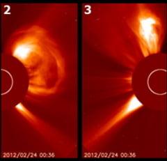 Cinci eruptii solare majore in doua zile! Activitatea solara spre maxim? (Video)