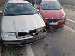 Cinci masini implicate intr-un accident rutier intre Alexandria si Vitanesti