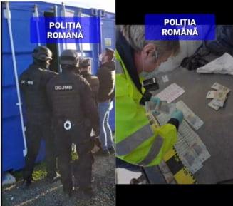 Cinci persoane retinute, in urma unei anchete de amploare a politiei, pentru ca produceau ilegal tigari. Valoarea marfii confiscate se ridica la peste 200.000 de euro VIDEO