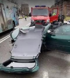 Cinci raniti, intre care si un copil, intr-un accident produs in Mamaia: Autorul e suspectat ca bause si consumase droguri