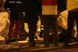 Cinci raniti, printre care si un copil, in urma unui accident intre Sura Mica si Ocna Sibiului. O femeie este in coma