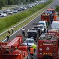 Cinci români au murit într-un accident crâncen pe autostrada M1 din Ungaria VIDEO