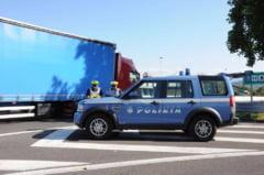 Cinci romani au fost implicati intr-un accident in Italia: 2 morti si 3 raniti