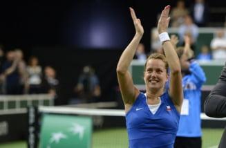 Cine e Barbora Strycova, urmatoarea adversara a Simonei Halep la Indian Wells
