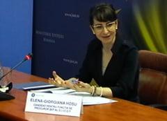 Cine e Giorgiana Hosu, propusa la sefia Parchetului Antimafia. Sotul are pensie speciala de la MAI si e judecat pentru coruptie