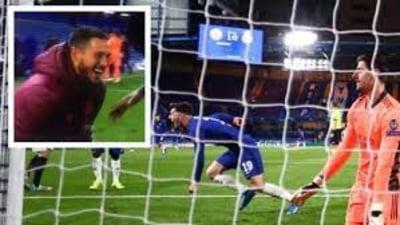 Cine e fotbalistul Realului suprins bucurandu-se alaturi de jucatorii lui Chelsea, dupa eliminarea echipei saleVIDEO