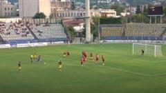 Cine e portarul brașovean care a dat gol din lovitură liberă într-un meci al marilor orgolii VIDEO