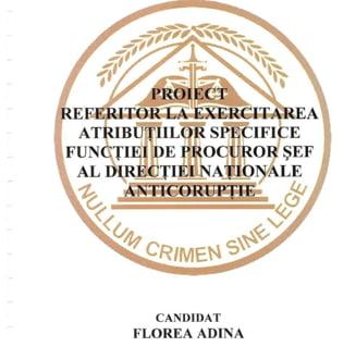 Cine este Adina Florea, propusa la sefia DNA: O critica pe Kovesi si il citeaza pe Toader in proiectul managerial