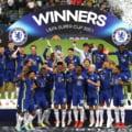 Cine este fotbalistul care s-a dat în spectacol în vestiarul lui Chelsea, după câștigarea Supercupei Europei VIDEO