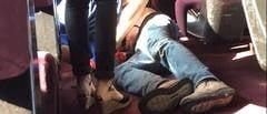 Cine-i atacatorul din tren? Spune ca n-ar fi terorist, ci doar un talhar